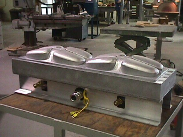 Vacuum Mold Casting Cast Aluminum Vacuum Forming